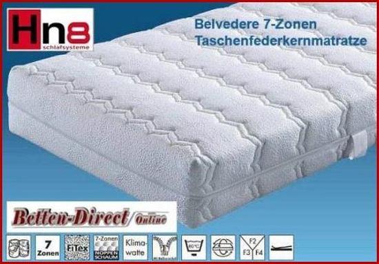 7 zonen taschenfederkernmatratze hn8 belvedere. Black Bedroom Furniture Sets. Home Design Ideas